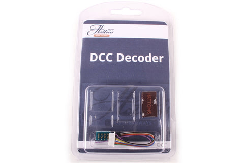 8-pin (harness) 4-function 1.1Amp decoder with back EMF
