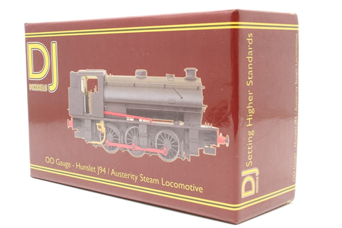 Hunslet Class J94 Austerity 0-6-0ST 65 in NCB livery - special edition for RMweb - Pre-owned - Professionally weathered and real coal added - missing front grab iron