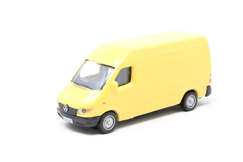 Mercedes-Benz Sprinter van in yellow - Pre-owned - body loose from chassis