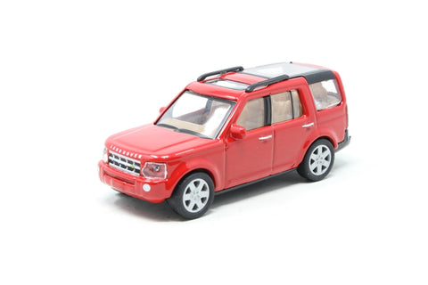 Land Rover Discovery 3 in red - Pre-owned - Like new