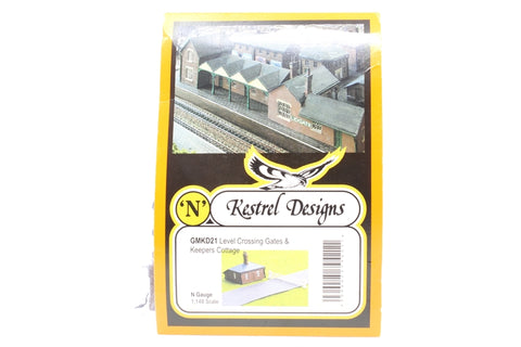 Level Crossing Gates and Keepers Cottage - Pre-owned - Like new - imperfect box