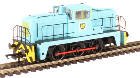 YEC Janus 0-6-0DE shunter in British Petroleum green livery