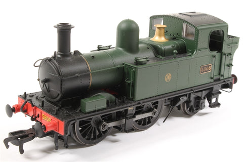 Class 58xx 0-4-2T 5808 in GWR Unlined green with Shirtbutton logo - Pre-owned - Like new