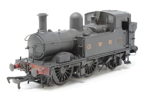 Class 48xx 0-4-2T 4807 in GWR Wartime black with G W R lettering - Lightly weathered - Pre-owned - Like new