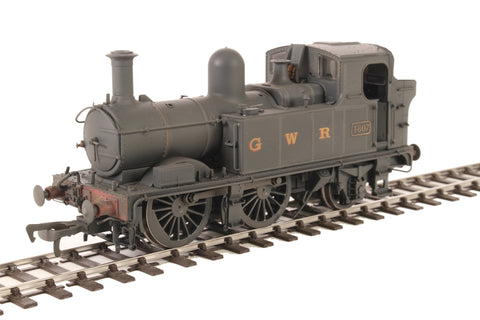 Class 48xx 0-4-2T 4807 in GWR Wartime black with G W R lettering - Lightly weathered