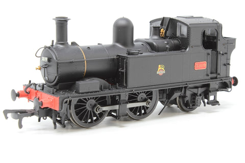 Class 58xx 0-4-2T 5819 in BR Unlined black with early emblem - Pre-owned - missing coupling hook - good box