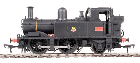 Class 58xx 0-4-2T 5819 in BR Unlined black with early emblem