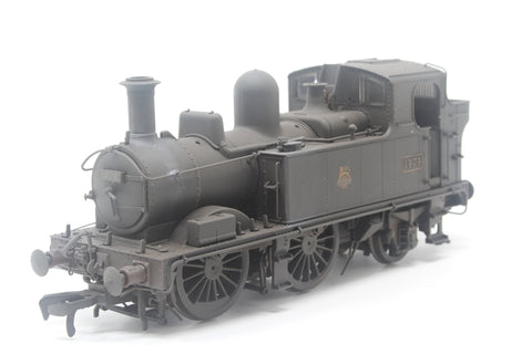 Class 14xx 0-4-2T 1474 in BR Unlined black with early emblem - Heavily weathered - Pre-owned - Like new