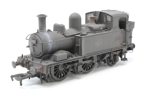 Class 14xx 0-4-2T 1432 in BR Lined green with late crest - Heavily weathered - Pre-owned - Noisy runner