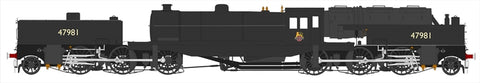 Beyer Garratt 2-6-0 0-6-2 47981 in BR black with early emblem