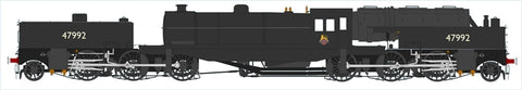 Beyer Garratt 2-6-0 0-6-2 47992 in BR black with early emblem