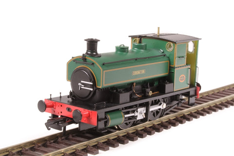 "Andrew Barclay 0-4-0ST 14"" 2134 ""Coronation"" in lined green"