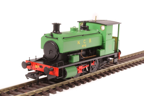 "Andrew Barclay 0-4-0ST 16"" 2043 'No 6' in NCB green"