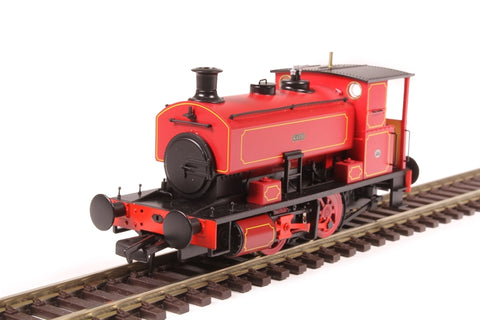 "Andrew Barclay 0-4-0ST 16"" 2226 ""Katie"" in lined maroon"