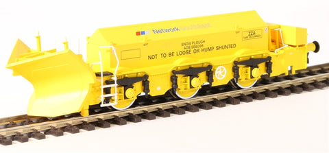 Beilhack snow plough (ex Class 45) ZZA ADB966098 in BR yellow with NSE Branding