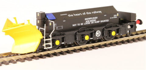 Beilhack snow plough (ex Class 40) ZZA ADB965581 in Railtrack Black