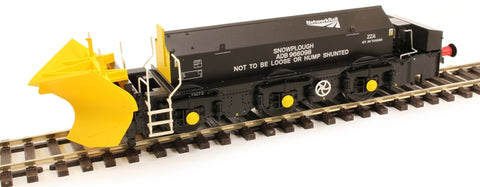 Beilhack snow plough (ex Class 45) ZZA ADB966098 in Network Rail black