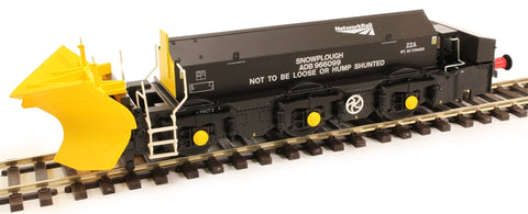 Beilhack snow plough (ex Class 45) ZZA ADB966099 in Network Rail black