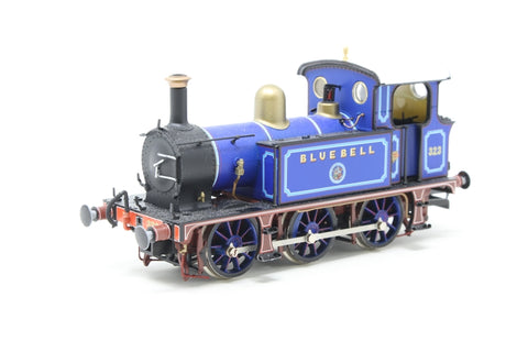 "SECR P Class 0-6-0T 323 ""Bluebell"" in Bluebell Railway lined blue (2010s) - Pre-owned - Like new"