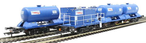 Rail Head Treatment Train 'Sandite' with 2 wagons and sandite modules