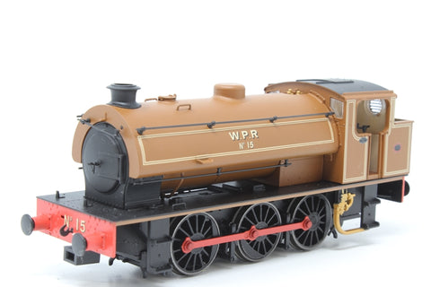 Austerity 0-6-0ST No 15 in Wemyss Private Railway lined brown - Exclusive to Hattons - Pre-owned - Like New - Very good box