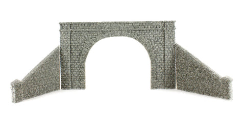 Tunnel Portal - Double Track - Stone
