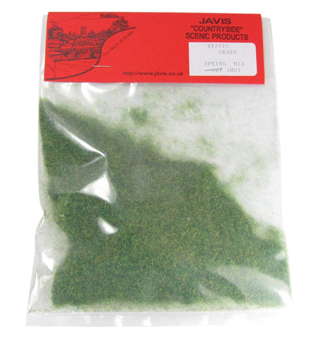 Static grass bag - Spring Mix - 2mm