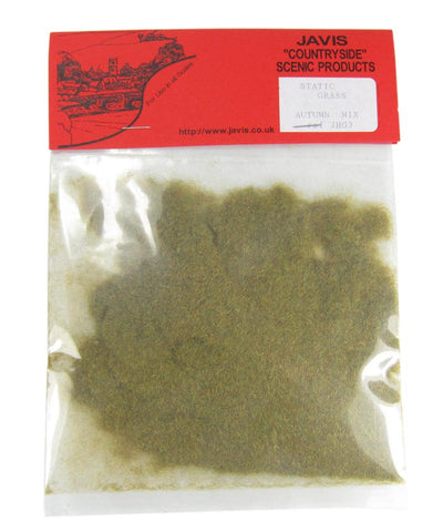 Static grass bag - Autumn Mix - 2mm