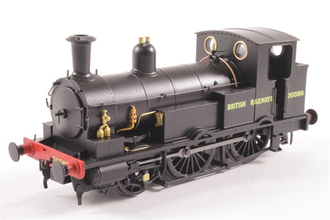 Class 0298 Beattie Well Tank 2-4-0 30586 in BR Black - Limited Edition for KMRC - DCC Fitted
