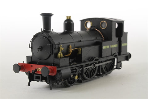 Class 0298 Beattie Well Tank 2-4-0 30586 in BR Black - Limited Edition for KMRC