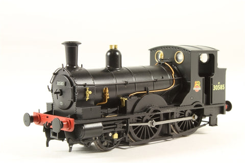 Class 0298 Beattie Well Tank 2-4-0T 30585 in BR black - DCC Fitted