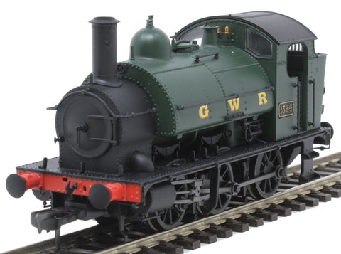 Class 1361 0-6-0ST 1364 in GWR green
