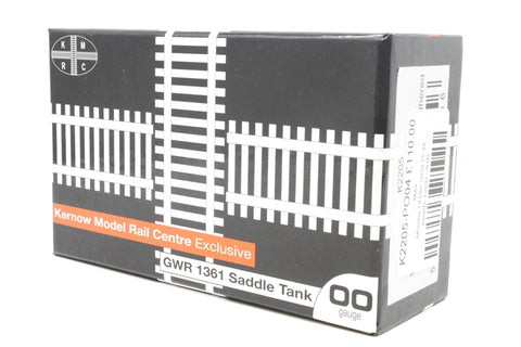 Class 1361 0-6-0ST 1365 in BR black with late crest - heavily weathered - Pre-owned - like new box