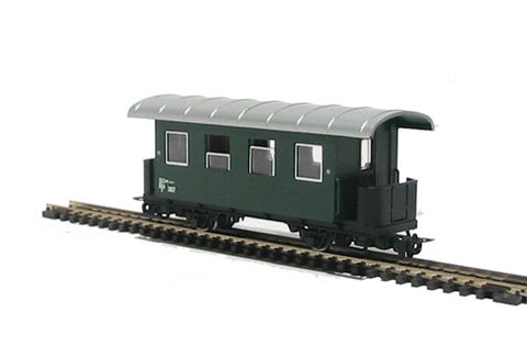 2nd class coach of the Austrian OBB in green livery Epoch V