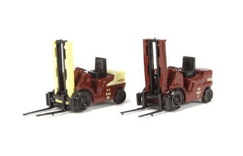 Pack of two Forklift trucks - British Railways