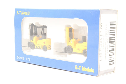 Pack of two Forklift trucks - British Rail - Pre-owned - Imperfect box