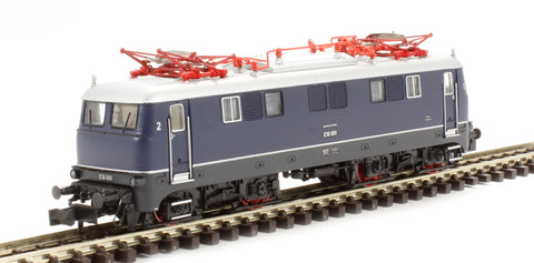 Electric locomotive E10 001 (2-light) DB. Era 3 (18-pin DCC ready)