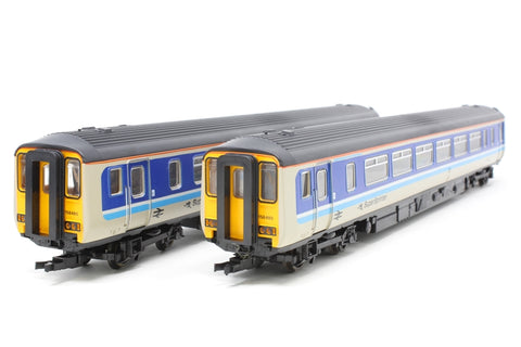Class 156 'Super Sprinter' Provincial blue nos. 52480 & 57480 - Pre-owned - Like new