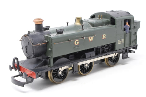 Class 94xx 0-6-0T 9400 in GWR Green - Pre-owned - missing coupling hook
