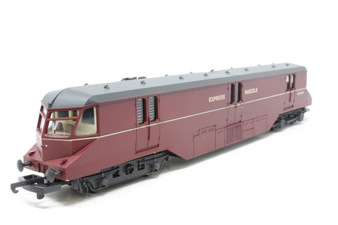 GWR railcar in Express Parcels Maroon - Pre-owned - imperfect box