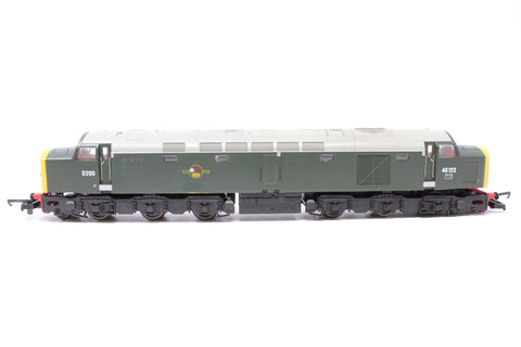 Class 40 40122/D200 in BR Green - Pre-owned - one bogie and axles coming apart - good box