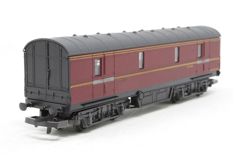 LMS Period 3 GUV General Van 37762 in LMS Maroon - Pre-owned - marks on body
