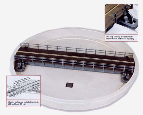 76ft Well type turntable