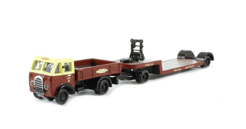 Foden DG & Drawbar Low Loader 'British Railways' (Circa 1949 - 1957)