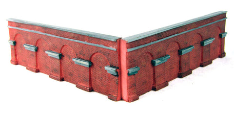 Brick retaining walls - Level: Pack 3 - Lyddle End Range