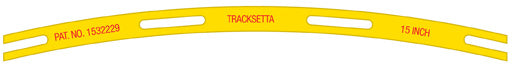 "381mm (15"") Radius Tracksetta"