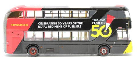 'Royal Regiment of Fusiliers' twin pack - New Routemaster and Wright Eclipse Gemini 2 - Limited Edition of 1000