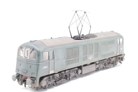 Class 71 E5002 in BR Plain Green (weathered) - Kernow Models exclusive - Pre-owned - Like new