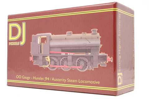 Class J94 Austerity 0-6-0ST 68061 in 'British Railways' black with original bunker - Pre-owned - DCC fitted - like new box