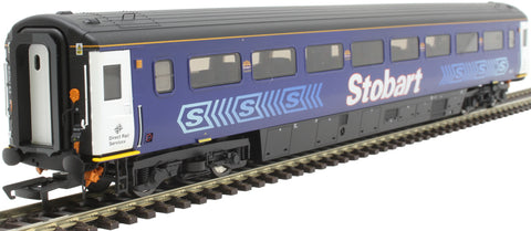 Mk3a FO first open 11013 in Stobart Rail Pullman livery